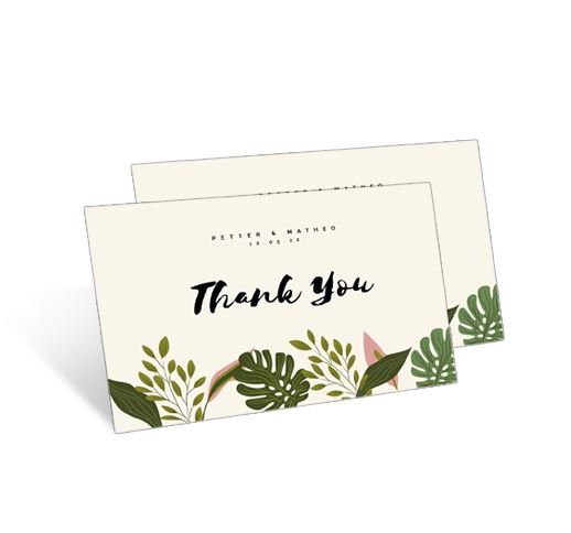 Thank You Card Custom
