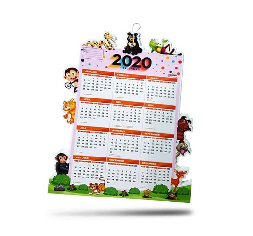 Pop Up Kalender UV