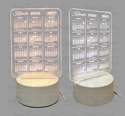 Kalender LED Acrylic