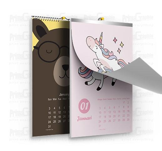 Kalender Dinding A3