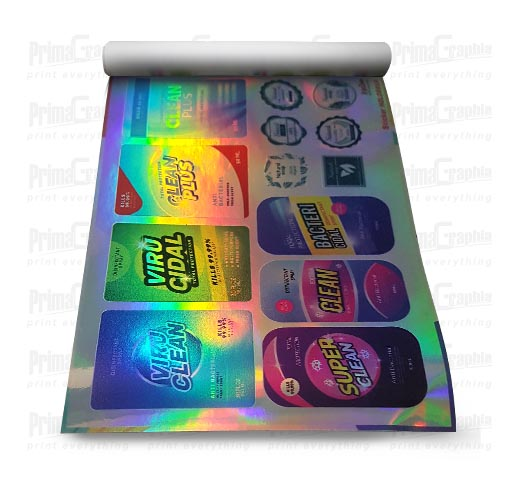 Sticker Hologram Meteran